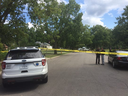 Des Moines police investigate a Friday afternoon shooting