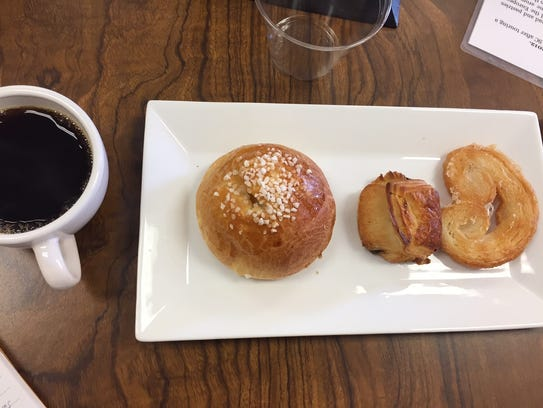 Pastries at LeGrand Bakery, one of the stops on the