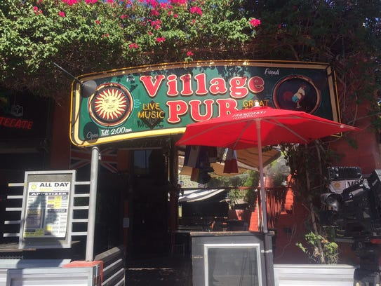 The Village Pub in downtown Palm Springs will be closing