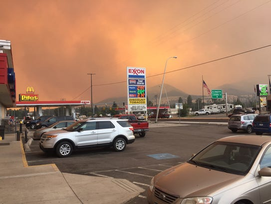 The Lolo Peak fire threatened the town of Lolo this past summer.