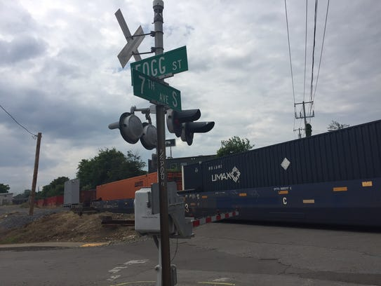 The city is in talks with railroad operator CSX that