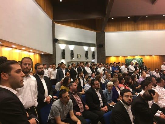 Members of Jackson's Orthodox Jewish community petitioned