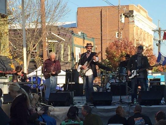The band Monko performs at last year's Haddon Township