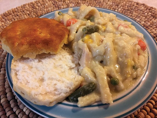 Comforting Chicken and Noodles