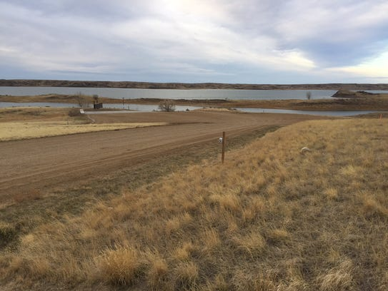 The Duck Creek Fishing Access Site paving and improvement