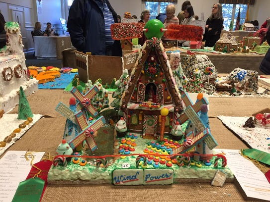 Wind Power at the 2017 Gingerbread Wonderland at the