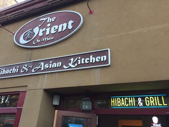 The Orient on Main Street.