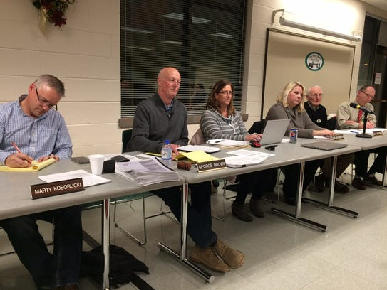 The De Pere Board of Park Commissioners heard from