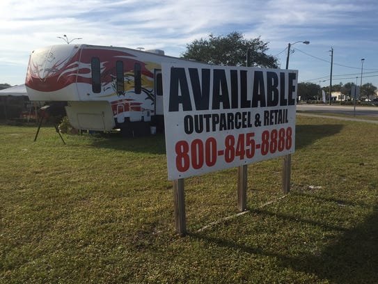 In years to come, owners of a popular Christmas tree lot on the southwest corner of Apollo Boulevard and Sarno Road will likely have to set up shop in another spot on the shopping plaza where it's been located for many years.