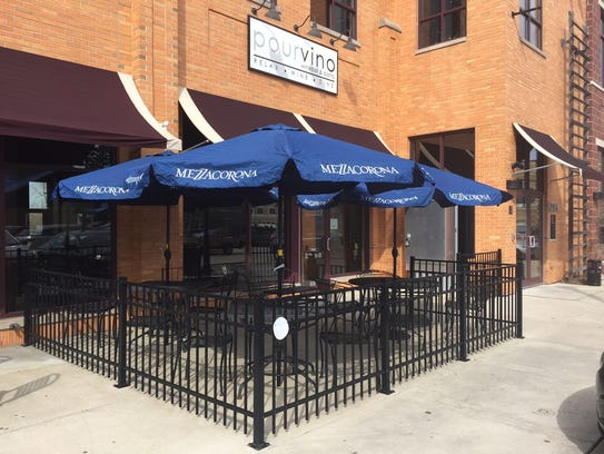 Pourvino's second anniversary in Grafton is Jan. 2.