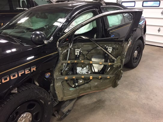 Trooper Dylan Nordell was investigating a possible