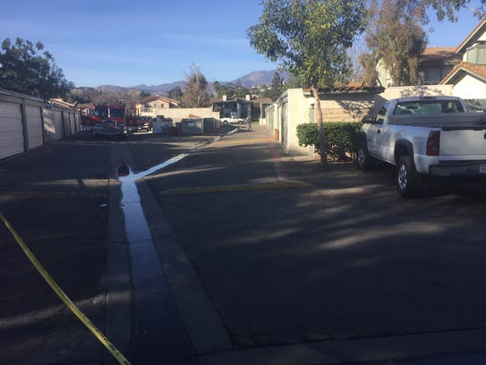 A spill was reported Saturday when a sewer line at