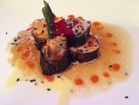 Haiku's appetizer No. 4 offers tuna, asparagus and