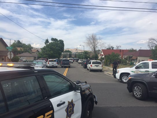 RPD and Washoe sheriff's deputies are involved in an