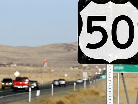 A project to widen Highway 50 between Stagecoach and Silver Springs is underway.