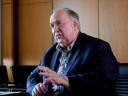Interim MSU President John Engler and his team arelikely to propose using multiple financial sourcestofund the $500 million settlement.