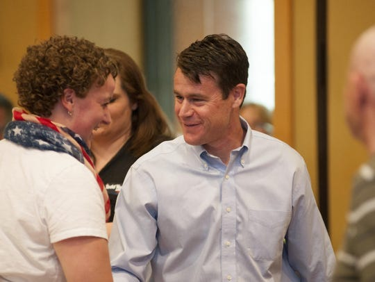 U.S. Rep. Todd Young celebrated in Franklin after defeating