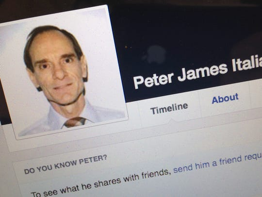 Seen on his Facebook page, Peter James Italia of Rutland