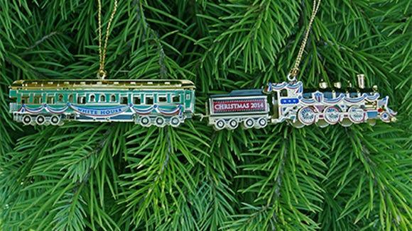 2014 white house christmas ornament - White House Christmas Ornament