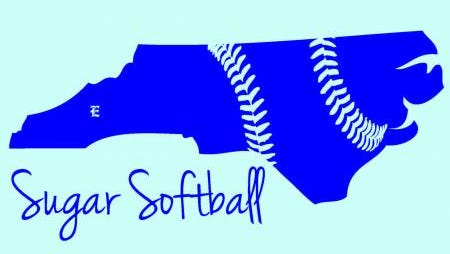 Fans wore a t-shirt with this design at the NCHSAA 3-A softball tournament earlier this month in Greensboro.