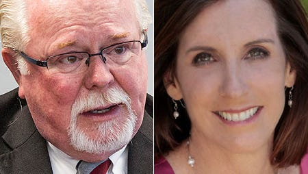 Ron Barber and Martha McSally