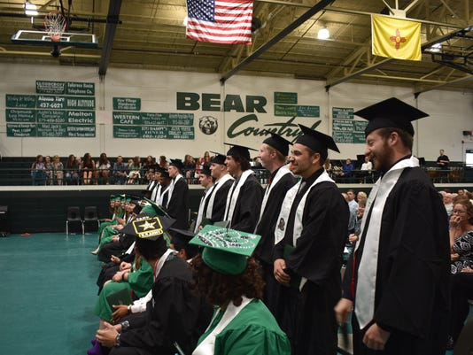 Cloudcroft Graduation 1