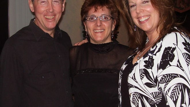 From left, Steve and Judy Gariepy and Ann Marsh.