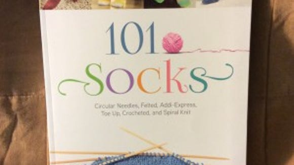 """""""101 Socks"""" is a great collection of  patterns using a wide variety of techniques."""