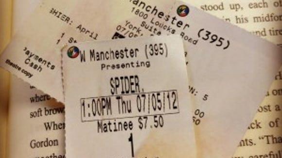 spiderman ticke