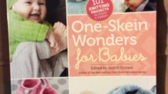 """""""One Skein Wonders for Babies""""  is a terrific book to have on hand for whenever you need to knit for babies."""
