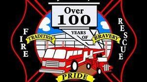 Dickson Fire Department logo.