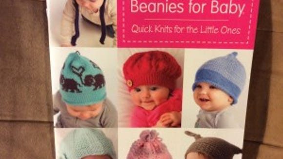 """I am really liking this book, """"A dozen beanies for baby,"""" which I reviewed last year."""