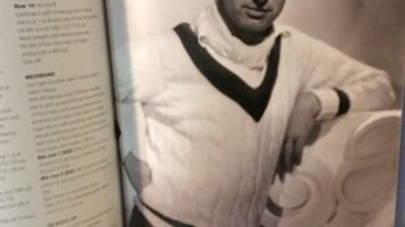 Cary Grant in a classic tennis sweater. Do people even wear these anymore? If not, it's a shame.