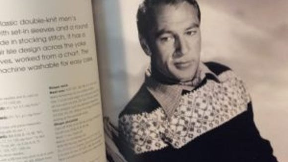 """Gary Cooper sports a """"ski sweater"""" when all stranded-knit sweaters were called """"ski sweaters."""""""