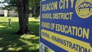The sign denoting the Beacon City School District is pictured in this file photo.