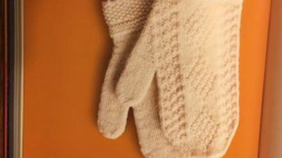 All this texture with just knits and purls! These mittens, for men or women, also are knitted in the round.