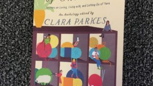 """Clara Parkes has compiled a wonderful book, """"A stash of one's own,"""" that gives amazing insights about why we stash yarn and how we deal with our tendency to do it."""