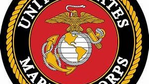 The U.S. Marine Corps insignia