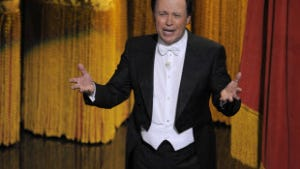 Billy Crystal hosted his ninth Academy Awards show on Sunday, but some say his performance was anything but spectacular.