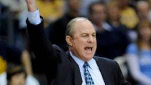 UCLA head coach Ben Howland reacts during a game against Loyola Marymount. UCLA, like other Pac-12 squads, has staggered out of the gate in 2012.