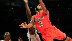 Louisville got red hot during the Big East Men's Basketball Tournament.