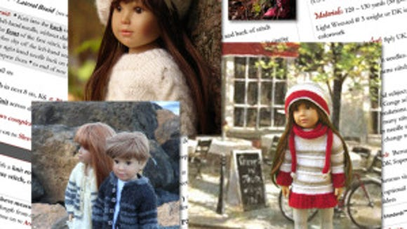 "Debonaire Designs aims to publish a new book for Kidz ""n"" Cats dolls, which are slightly taller and thinner than American Girl dolls."