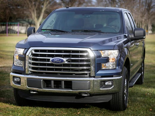The  Ford F  Xlt Supercab X With Its  Hp