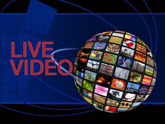 live video logo icon