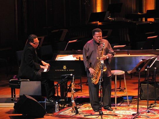 Wayne Shorter Quartet performing at the Detroit Jazz Festival.