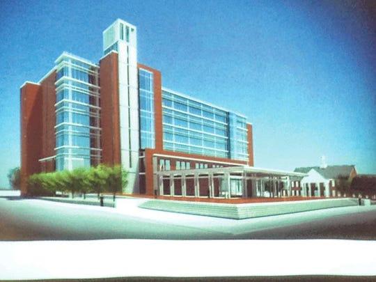 Original Judicial Center design.