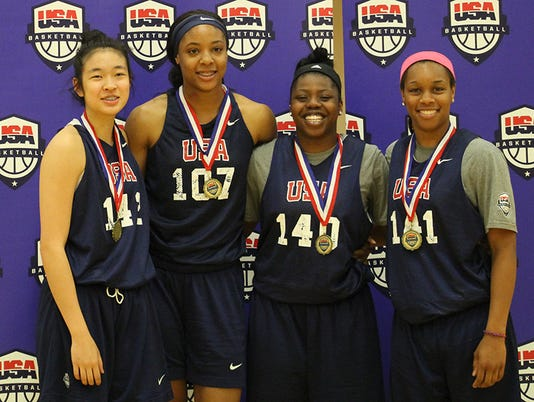 US Womens U18 3x3 champs, Asia Durr