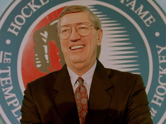 AL ARBOUR INDUCTED INTO HOCKEY HALL OF FAME