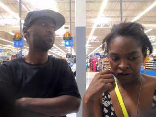 Clinton Walmart robbery