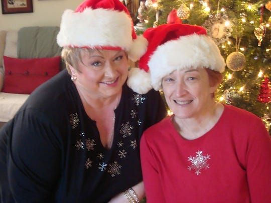 Lisa Karen Hartman, left, and Jill Quirk have know each other for more than 50 years.
